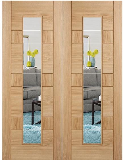 Oak Edmonton Glazed Door Internal Doors Doors Galore