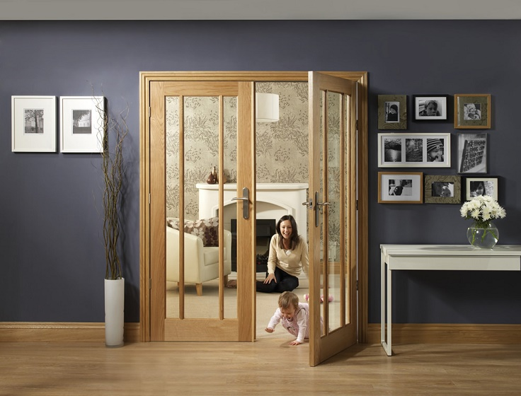 Oak Door Pair worcester