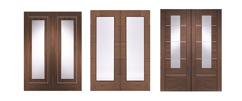 Internal Walnut Door Pairs