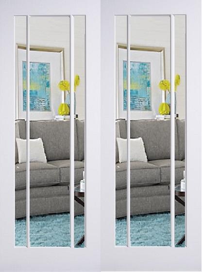 White Primed Lincoln Door Internal Doors Doors Galore