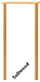 Softwood Door Lining - 108mm - MB