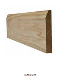 Oak Chamfered Skirting Pack - Unfinished - LPD