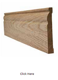 Oak Ogee Skirting Pack - Unfinished - LPD