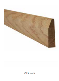 Oak Chamfered Architrave - Unfinished - LPD