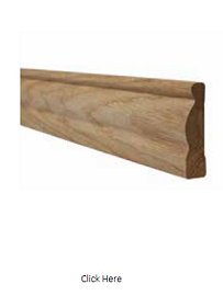 Oak Ogee Architrave - Unfinished - LPD