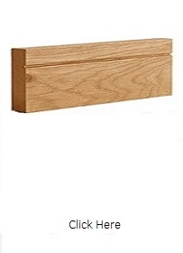 Oak Shaker Architrave - Pre Finished - DE
