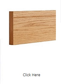 Oak Shaker Style Skirting Pack - Pre Finished - DE