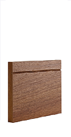 Walnut Shaker Style Skirting - Pre Finished - (DE)