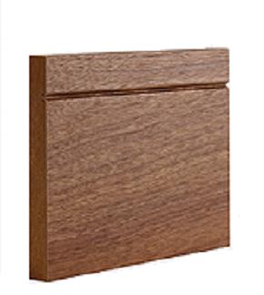 Walnut Shaker Style Skirting Skirting Doors Galore
