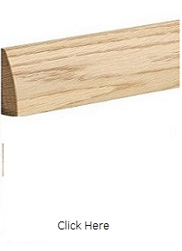 Oak Modern Door Pair Architrave - Unfinished - XL