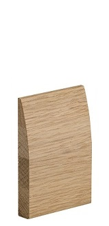 Oak Modern Skirting - Unfinished - XL