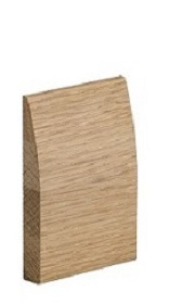 Oak Modern Skirting - Pre Finished - XL