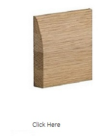 Oak Modern Skirting Pack - Pre Finished - XL