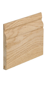 Oak Traditional Skirting Pack - Unfinished - XL