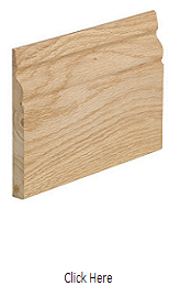 Oak Skirting Pack (Ogee Profile) - Unfinished - XL