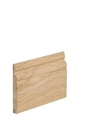 Oak Traditional Skirting - Unfinished - XL
