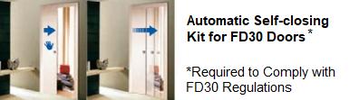 FD30 slider accesories closer kit
