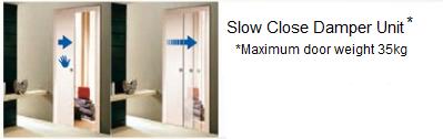 Slow Close Damper for Sliding Door