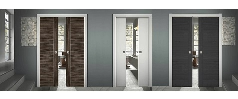 Double Pocket Sliding Door Kits