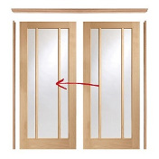 Easi Slide Door Set (Option 3) - Includes Frame and Doors - XL