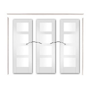 Easi Slide Door Set  ( Option 2 )- Inclu...
