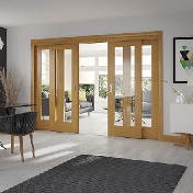 Easi Slide Door Set (Option 1) - Includes Frame and Doors - XL