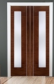 Double Sliding Pocket Door Kit - LPD