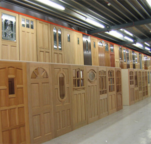 Showroom image from the Doors and Floors Galore head office