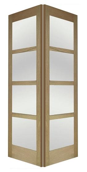 Oak Shaker 4g Glass Door Interior Doors Doors Galore
