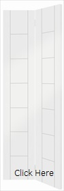 White Primed Palermo Bi-fold - XL