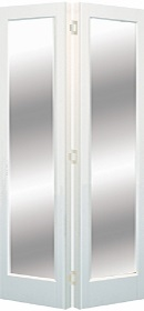 White Marston Bifold with Clear Glass - ...