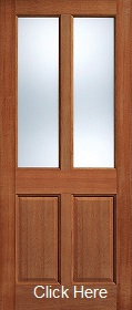 Hardwood Malton Glazed - Clear Glass - M...