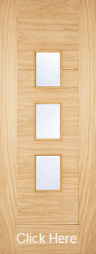 Oak Arta Glazed - Part L Door - LPD