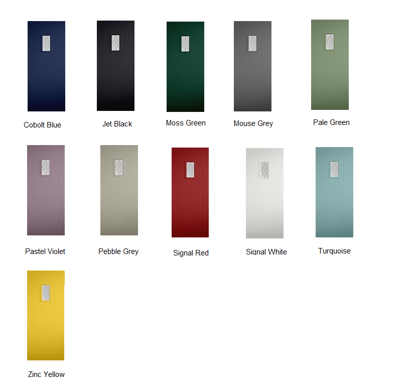Tricoya Colour options