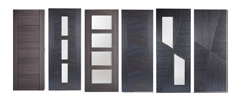 Ash, and Ash Grey Fire Doors 44mm