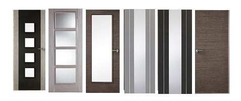 Grey Fire Doors FD30 44mm