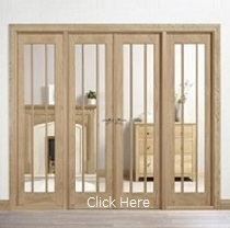 Oak Lincoln W8 - Clear Glass - Unfinishe...