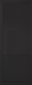 Tribeca 3P Black Primed Solid Core Door