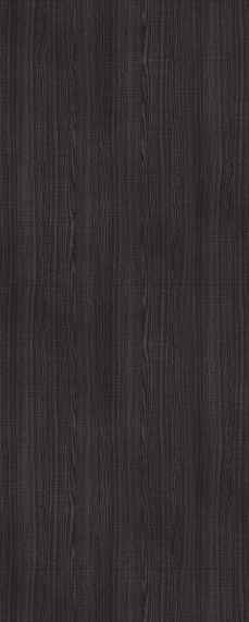 Internal Flush Dark Grey Ash - Prefinished - Solid Core - DE