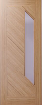Glazed Oak Internal Firedoor