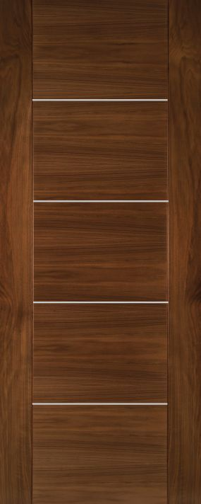 Valencia Walnut Fire Door