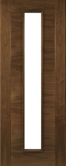 Walnut Seville - Clear Glass - Prefinished - DE