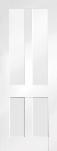 White Primed Malton Shaker with Clear Glass - XL