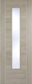 Internal Laminate Light Grey Vancouver Glazed - Prefinished - LPD