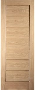 Oak Un-Finished Cottage Horizontal Interior Door - JWC